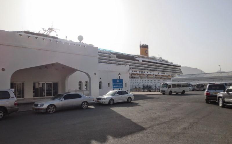 Costa Serena in Khasab