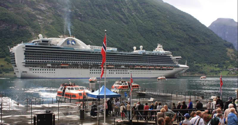 Crown Princess in Norwegen