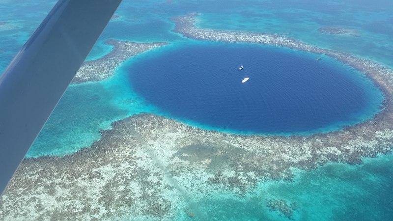 Landausflüge in Belize zum Blue Hole