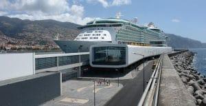 Das Kreuzfahrtterminal