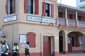 Das Museum und das Büro der Touristeninformation