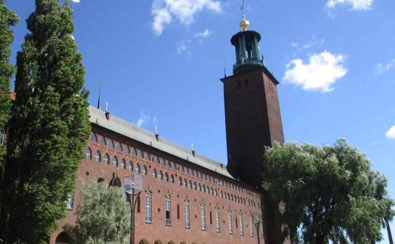 Das Rathaus von Stockholm