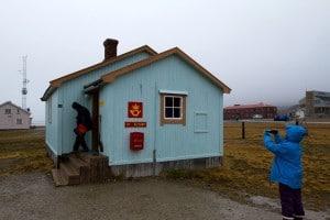 Das nördlichste Postamt der Welt