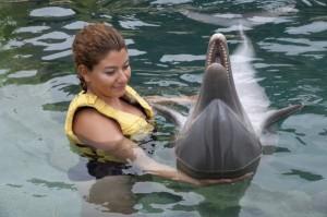 Delphine im Chankanaab Park