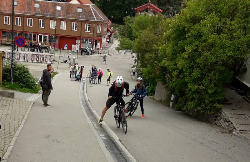 Der erste Fahrradlift der Welt