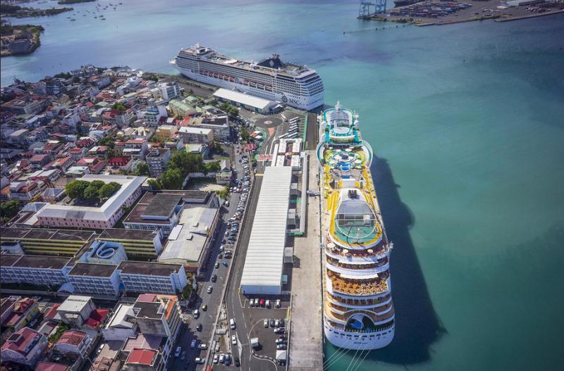 Der Hafen aus einem anderen Blickwinkel