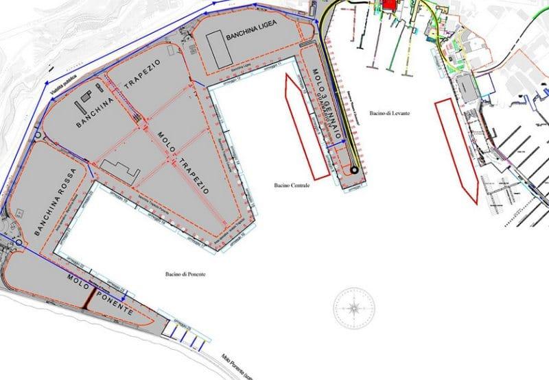 Die Liegeplätze und der Hafen auf einen Blick