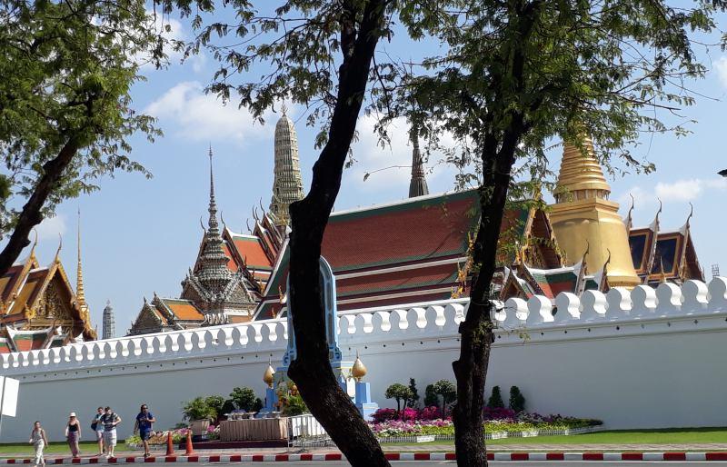 Der Königspalast von Bangkok