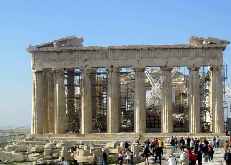 Parthenon auf der Akrpolis