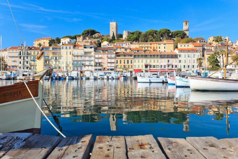 Der Vieux Port und die Altstadt Le Suquet