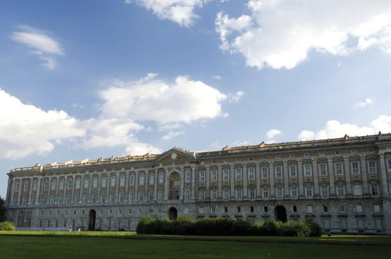 Der barocke Königspalast von Caserta