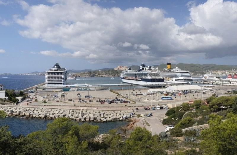 Der guten Tag im Hafen