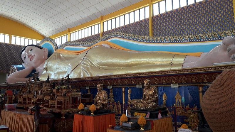 Der liegende Buddha von George Town Penang