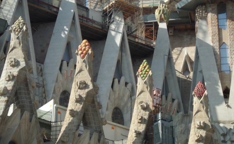 Details der Sagrada Familia