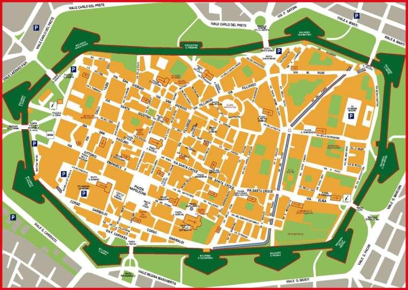 Die Altstadt von Lucca