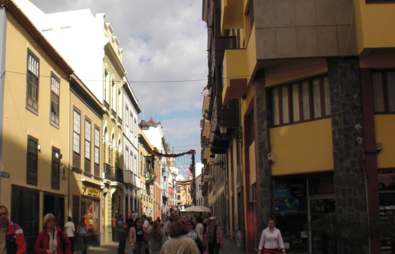 Calle O'Daly in Santa Cruz