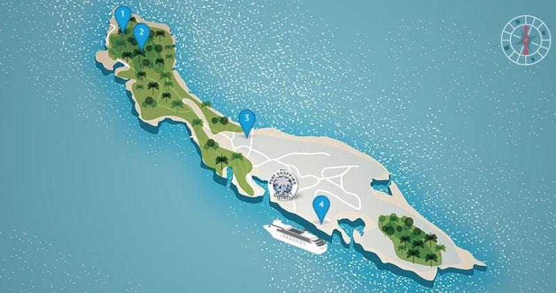 Die Insel auf einen Blick
