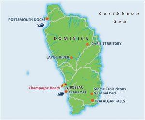 Karte von Carnival Cruises