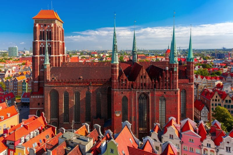 Landausflüge in Danzig zur Marienkirche