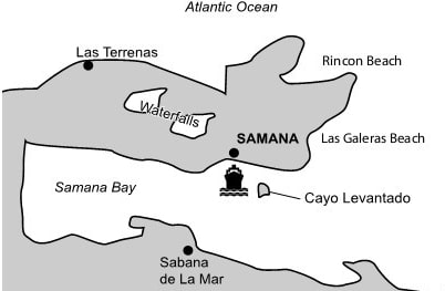 Landausflüge in Samana auf eigene Faust
