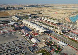 Die Rennstrecke in Bahrain