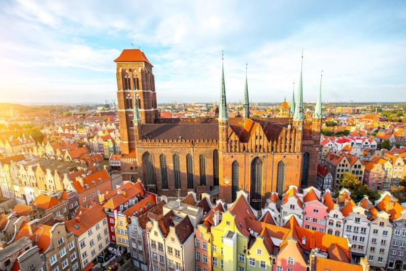 Die mächtige Marienkirche