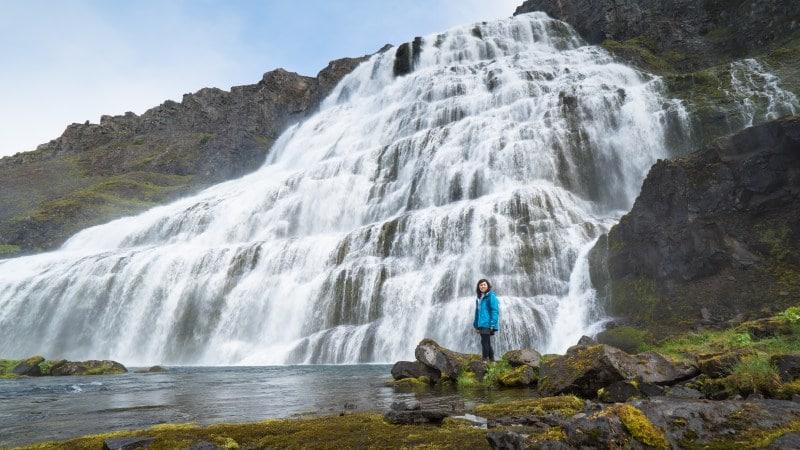 Landausflüge zum Dynjandi Wasserfall