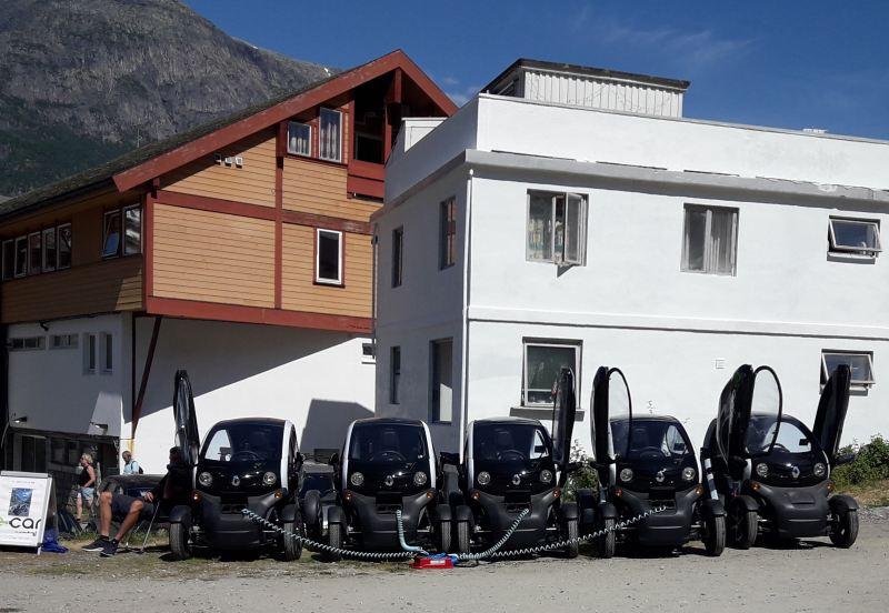 Autovermietung in Eidfjord
