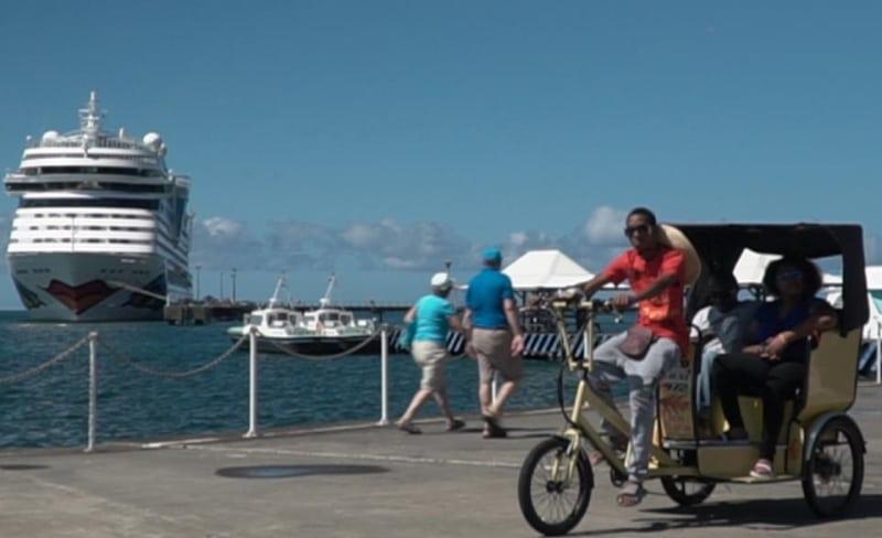 Landausflüge auf Martinique mit einer Fahrradrikscha