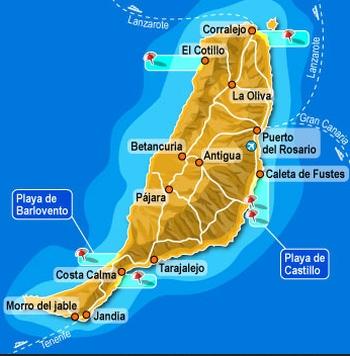 Landausflüge auf Fuerteventura auf eigene Faust