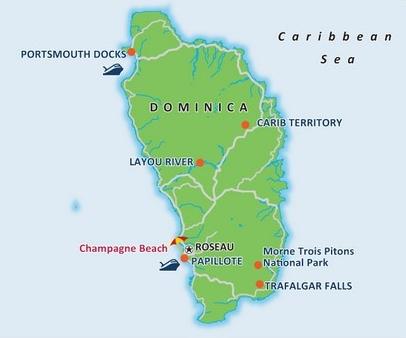 Landausflüge in Dominica auf eigene Faust