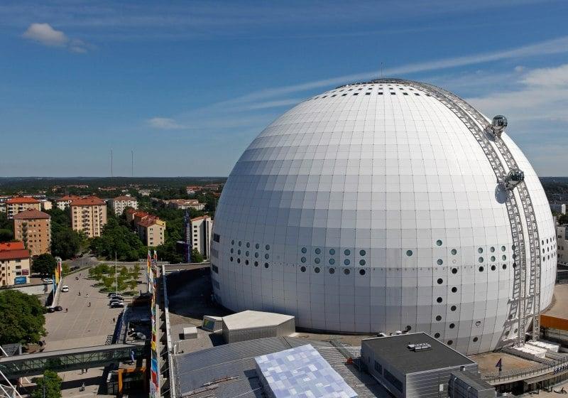 Ericsson Globe ist Ziel für Landausflüge in Stockholm