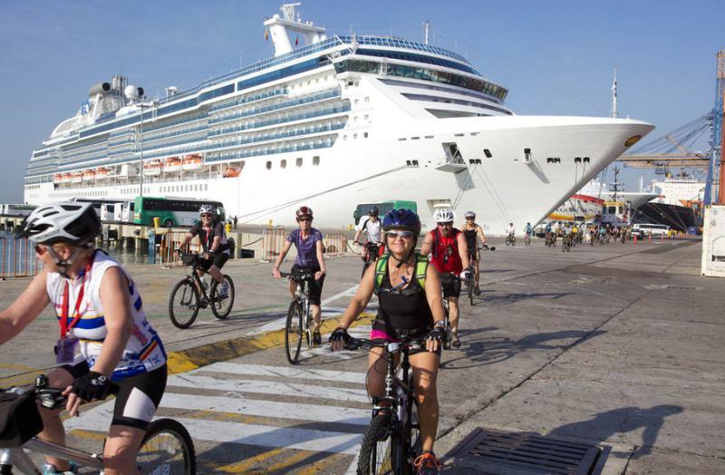 Kreuzfahrtausflüge mit dem Fahrrad