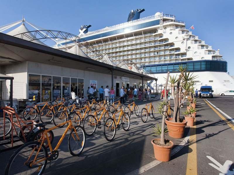 Fahrradverleih am Terminal für einen Tag auf Catania auf eigene Faust