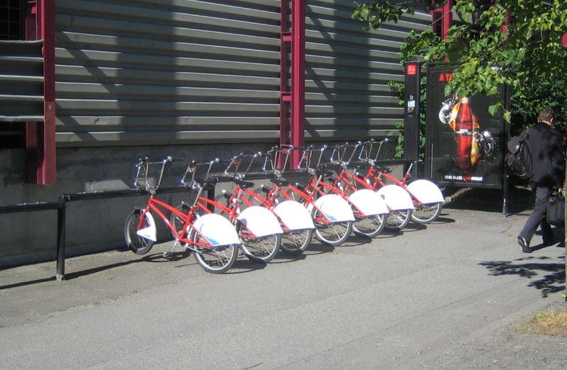 Landausflüge n Trondheim mit dem Fahrrad