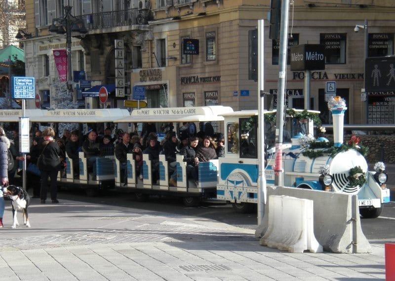 Landausflüge in Marseille mit der Bimmelbahn