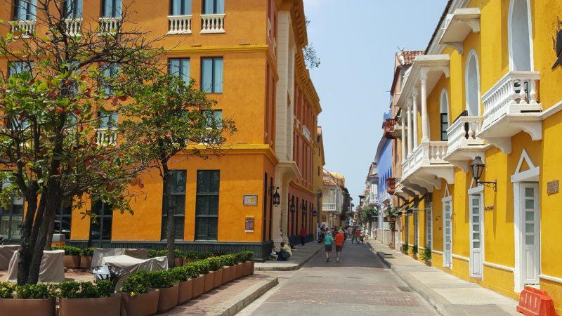 In der Altstadt von Cartagena de Indias