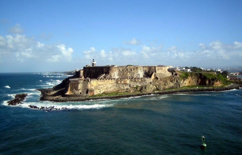Festungsanlage El Morro von Deck aus