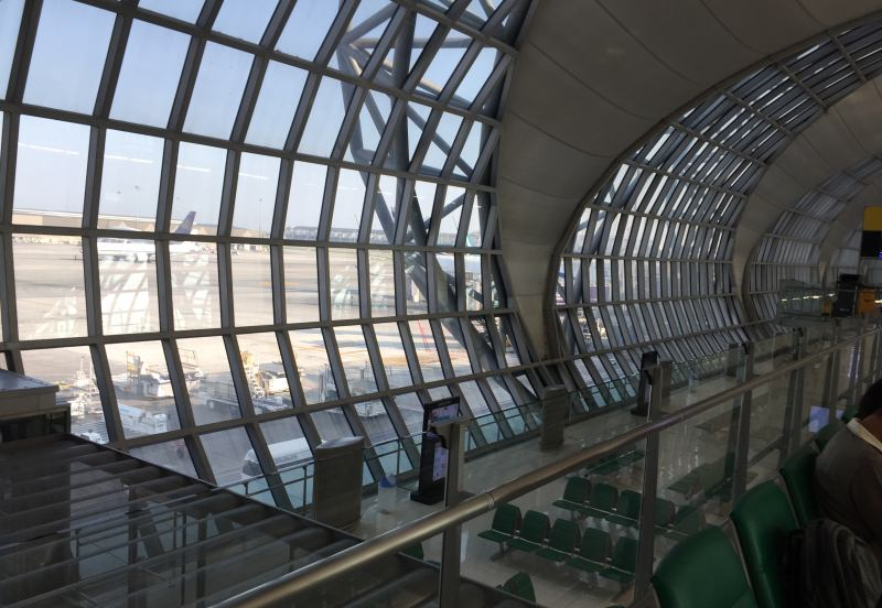 Flughafen Bangkok-Suvarnabhumi ist Ausgangpunkt vieler Südostasien Kreuzfahrten