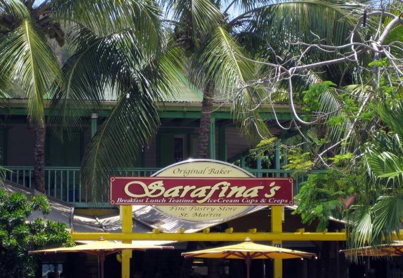 Französische Bäckerei in Marigot