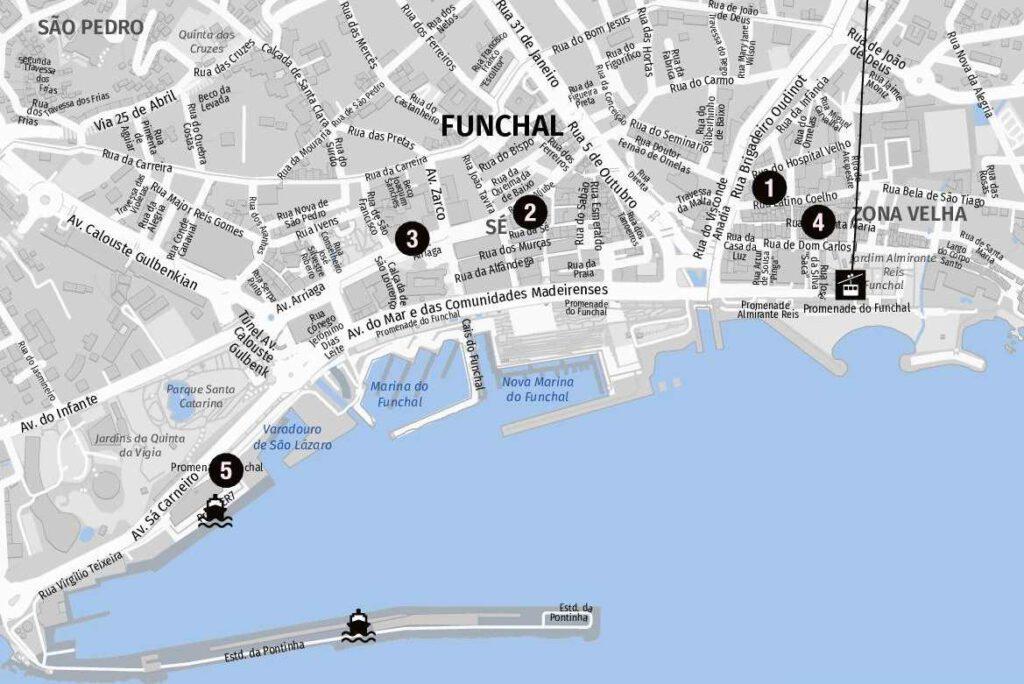 Funchal auf einen Blick