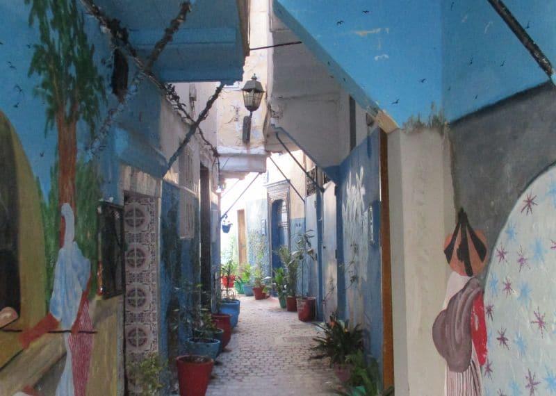 Bummel durch die Gassen der Medina von Tanger