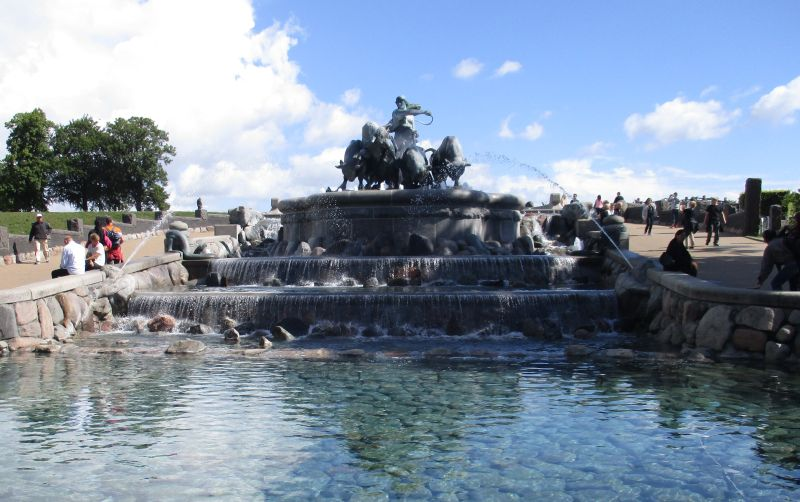 Der Gefion-Brunnen