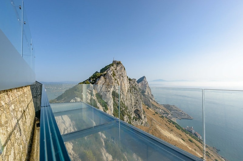 Landausflüge in Gibraltar zum Gibraltar Skywalk