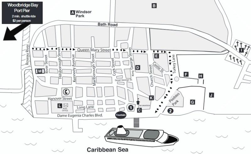 Hafen und Stadt