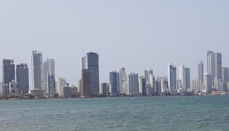 Hochhäuser im Stadtteil Bocagrande