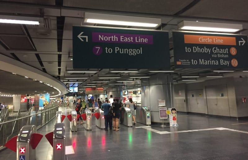 Singapur auf eigene Faust mit der Metro