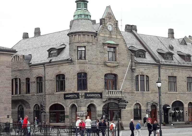 Jugendstilzentrum im Zentrum von Ålesund