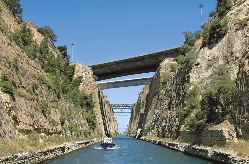 Landausflüge in Athen zum Kanal von Korinth