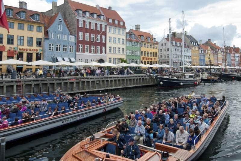 Kanaltouren am Nyhavn